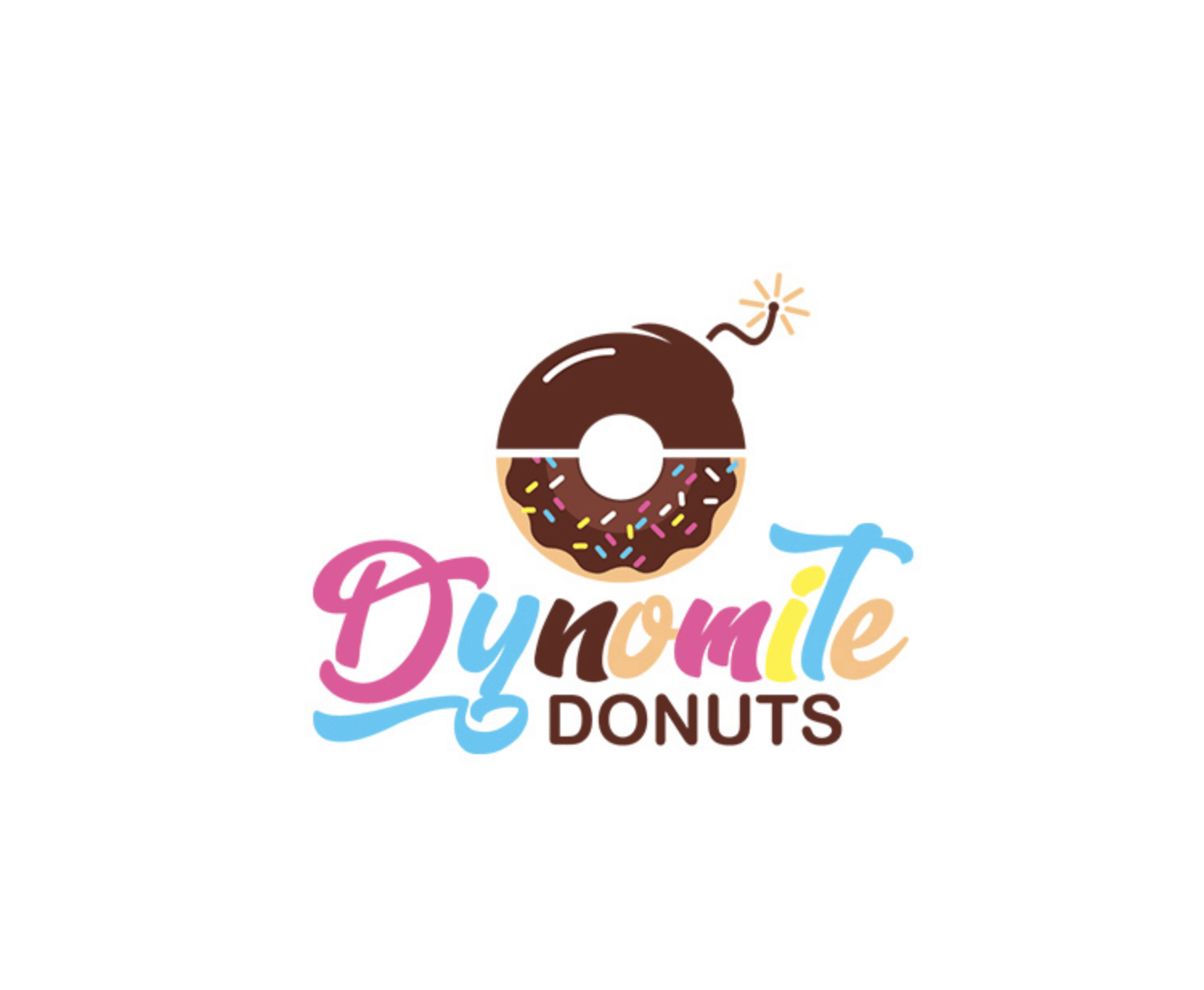 Tailored Logo 로고-Dynomite Donuts